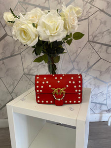 Red Pearl Bag