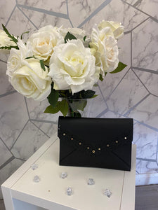 Black Envelope evening bag