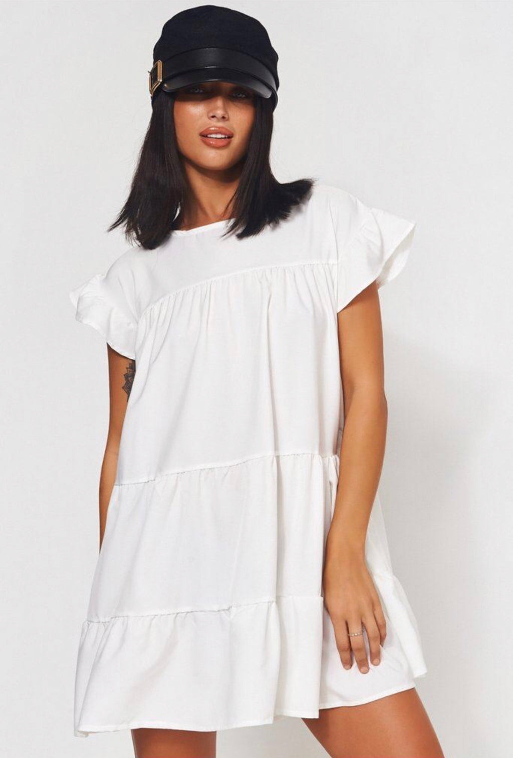 White Nancy dress