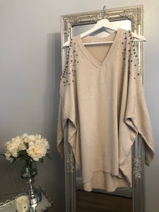 The Florence Nude jumper