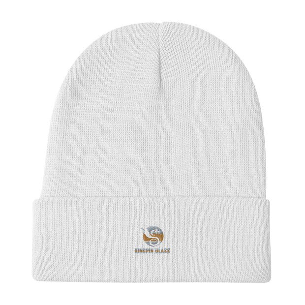 Classic KingPin Glass Embroidered Beanie