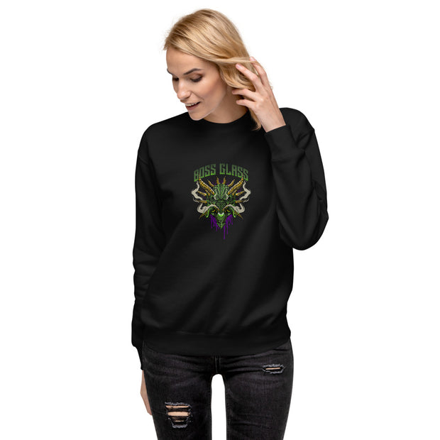 KingPin Glass Unisex Fleece Pullover