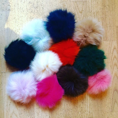 Monelle Interchangeable PomPoms