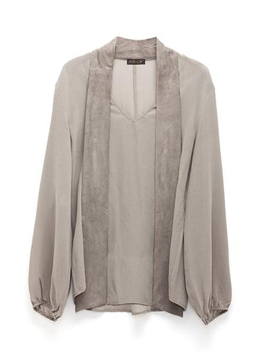 AS By DF | Castellina Blouse (plume gray)
