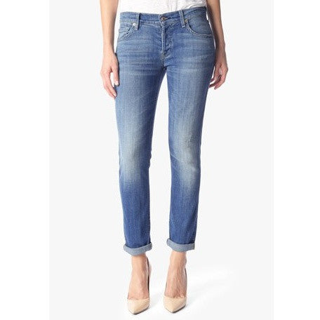 7 For All Mankind | Josefine Boyfriend (Bright Light Broken Twill)