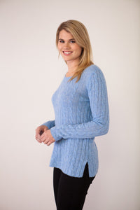 Claudia Nichole | Breezy Cable Pullover
