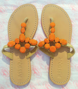Mystique Sandals | Orange