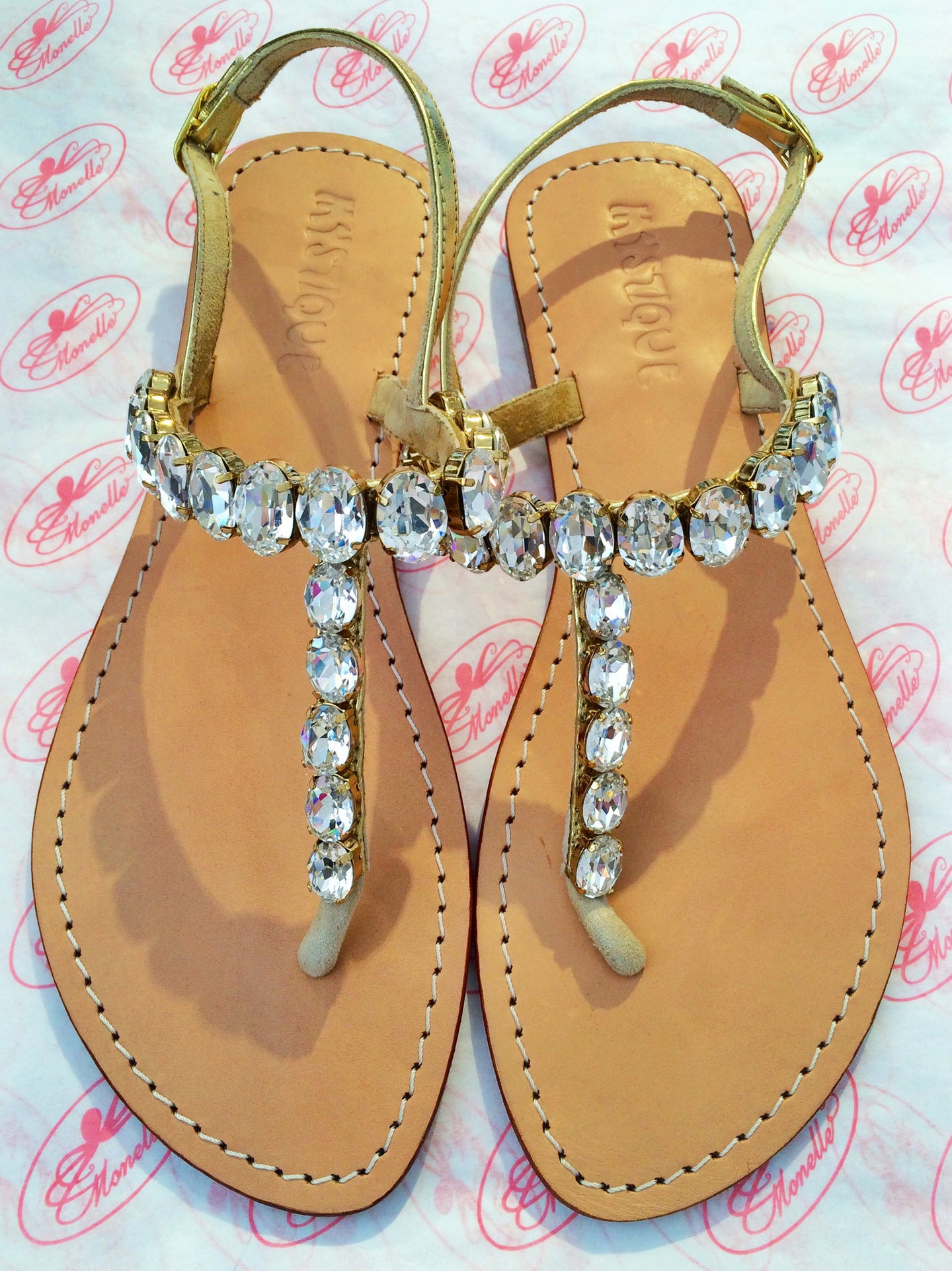 Mystique Sandals | Diamond Strap