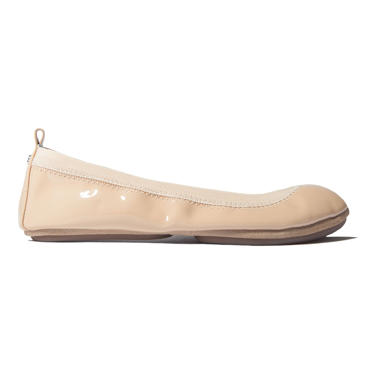Yosi Samra | Nude Patent Leather