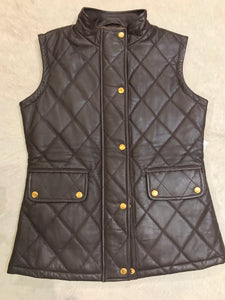 Marc A Dolci | Leather Quilted Vest