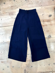 Amanda Uprichard | Ravine Pants (Navy)