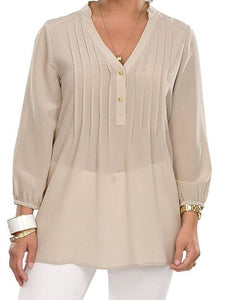 Royal Cort | Collins Silk Blouse w Buttons