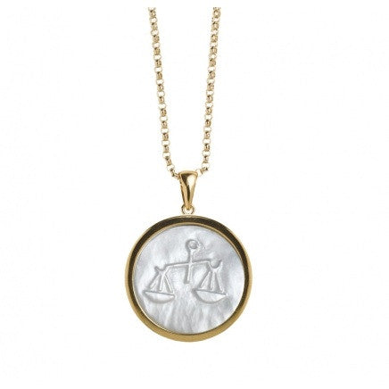 ASHA New York | Large Zodiac Pendant with Chain