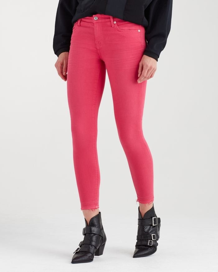 7 for All Mankind | The Ankle Skinny (Cherry Ice)