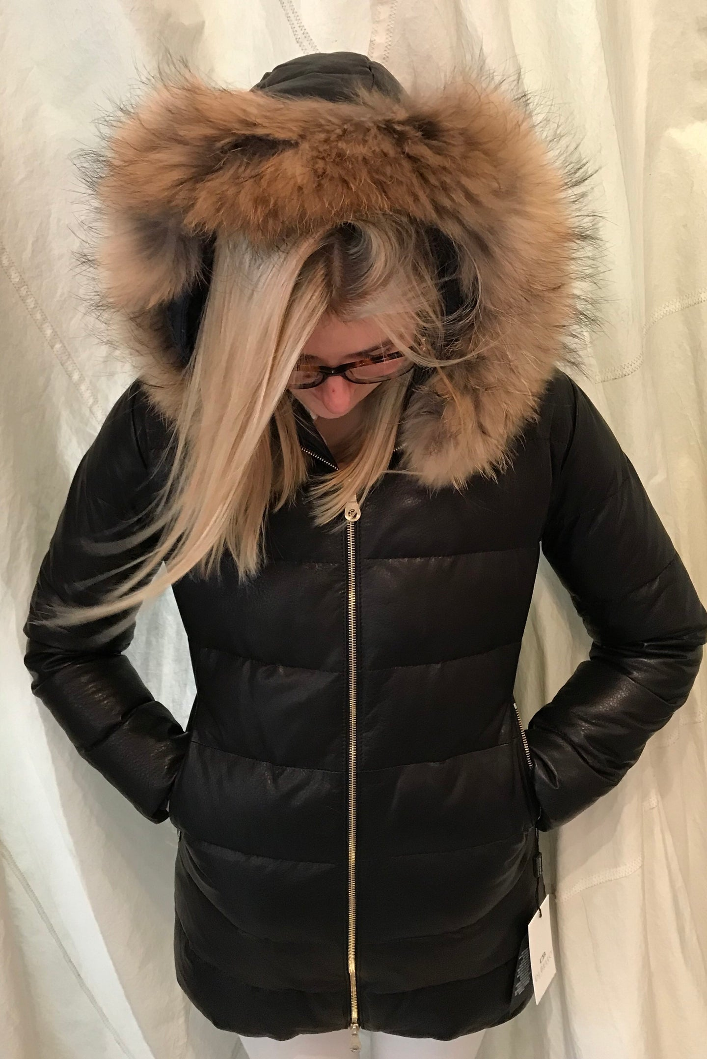 Di Bello | Soft Lambskin Nappa & Goose Down Jacket