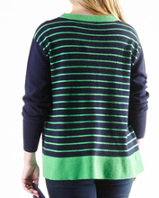 Cortland Park| Kate Striped Back Sweater