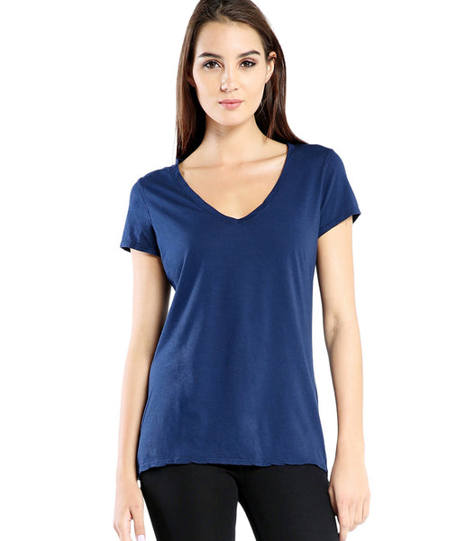 Michael Stars | 6008 - SS Fitted VNeck