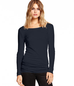 Michael Stars | 6242 - LS Wide Scoop Neck