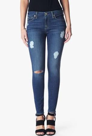 7 For All Mankind | b(air): The Ankle Skinny (Duchess w/destroy)