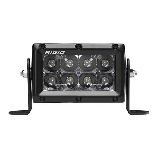 4 Inch Spot Midnight E-Series Pro Light Bar Rigid Industries - OffBeat Auto