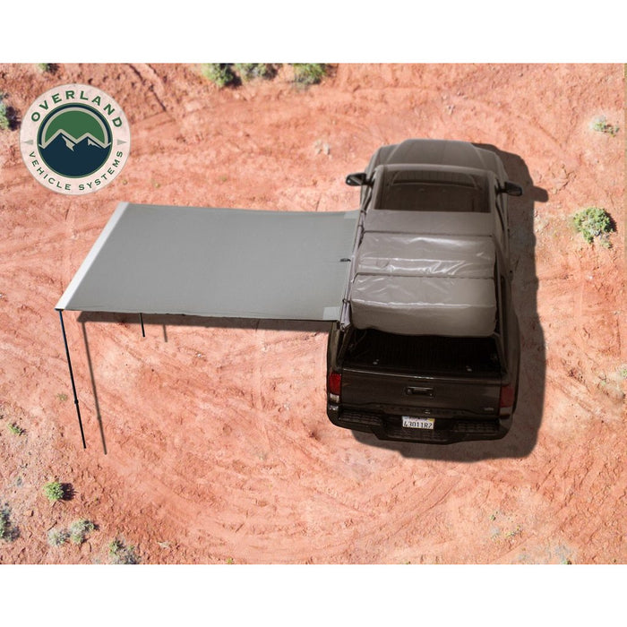 Awning 2.0-6.5 Foot With Black Cover Universal Nomadic Overland Vehicle Systems - OffBeat Auto