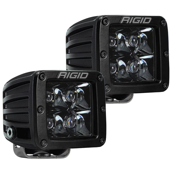 Spot Surface Mount Midnight Pair D-Series Pro RIGID Industries - OffBeat Auto