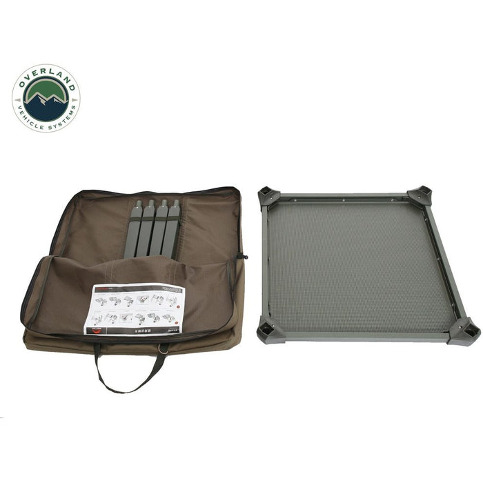 Camping Table Folding Portable Camping Table Small W/Storage Case Wild Land Overland Vehicle Systems - OffBeat Auto