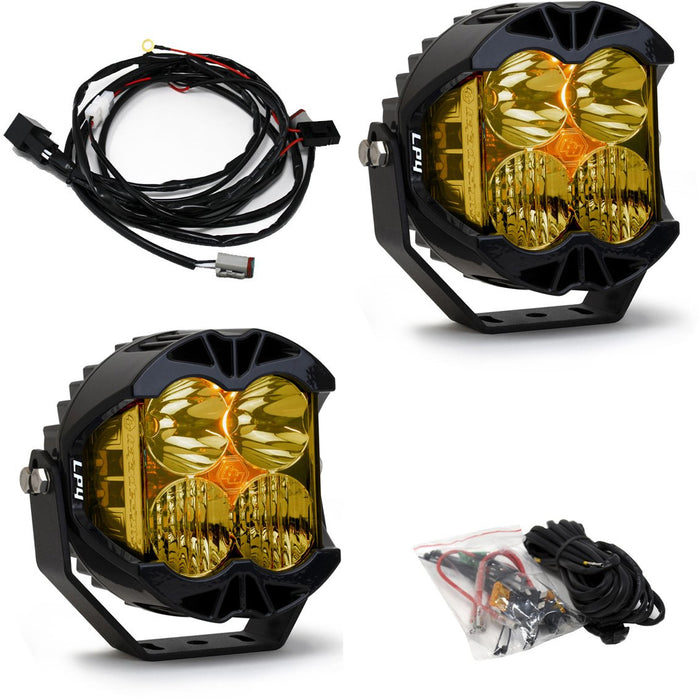 LP4 Pro LED Driving/Combo Amber Lens Pair Baja Designs - OffBeat Auto