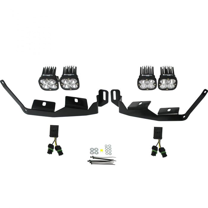 Polaris Headlight Kit 2014-Present RZR XP1000/RS1 Unlimited Baja Designs - OffBeat Auto