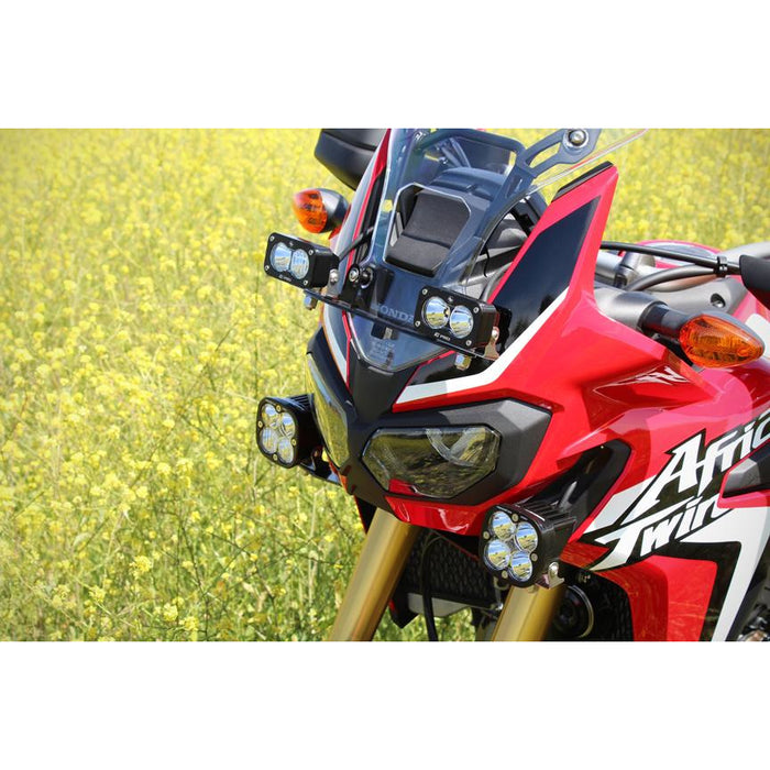 Honda Africa Twin Frame Mount Kit Pro Baja Designs - OffBeat Auto