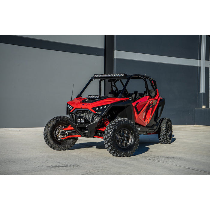 Polaris RZR Pro XP Hood Mount Light Kit 10 Inch S8 Baja Designs - OffBeat Auto