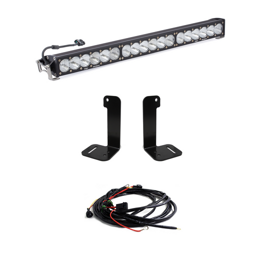 Jeep JL/JT 30 Inch OnX6+ Light Bar Kit Baja Designs - OffBeat Auto