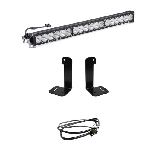 Jeep JL/JT 30 Inch OnX6+ Light Bar Kit w/Upfitter Baja Designs - OffBeat Auto