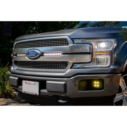 F-150 Dual 10 Inch S8 Light Bar Kit For 18-On Ford F-150 Baja Designs - OffBeat Auto