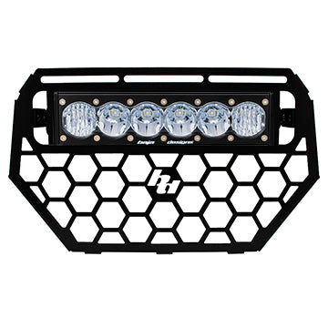 Polaris RZR Grille and OnX6 LED Light Bar Kit 14-15 Baja Designs - OffBeat Auto