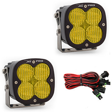 LED Light Pods Amber Lens Pair XL Pro Series Baja Designs - OffBeat Auto