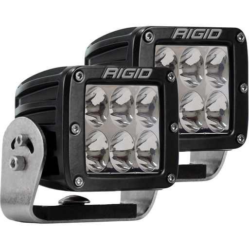 LED Light Pod 4 Inch Radiance POD XL Pair RIGID - OffBeat Auto