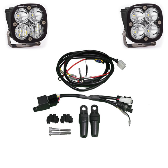 KTM 950 and 990 Adventure Bike LED Light Pod Kit Squadron Sport Baja Designs - OffBeat Auto