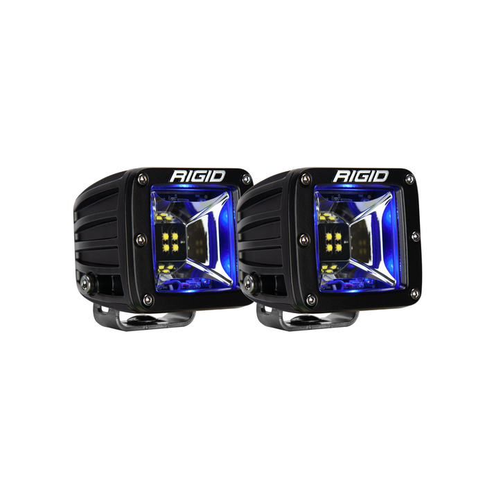 Scene Blue Backlight Surface Mount Pair Radiance RIGID Industries - OffBeat Auto