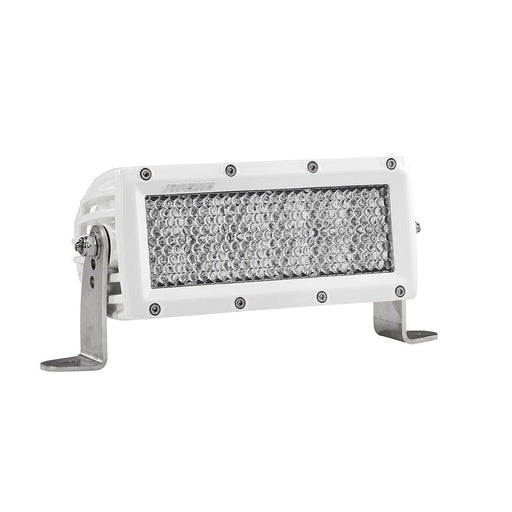 6 Inch Diffused Light White Housing E-Series Pro Light Bar Rigid Industries - OffBeat Auto
