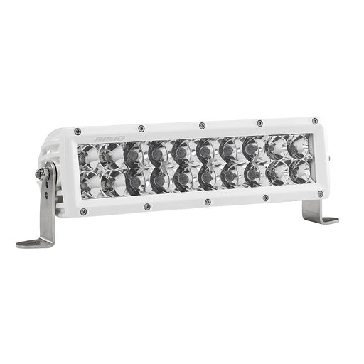 10 Inch Spot/Flood Combo Light White Housing E-Series Pro RIGID Industries - OffBeat Auto