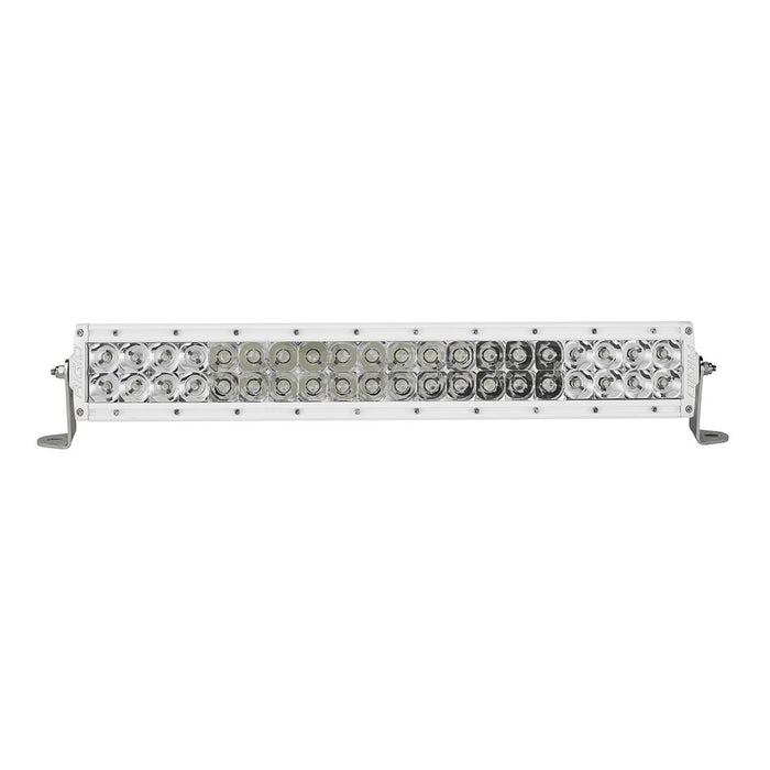 20 Inch Spot/Flood Combo Light White Housing E-Series Pro RIGID Industries - OffBeat Auto