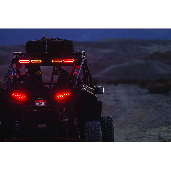 Tail Light Red Chase RIGID Industries - OffBeat Auto