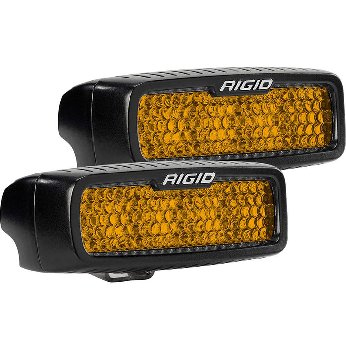 Diffused Rear Facing High/Low Surface Mount Amber Pair SR-Q Pro RIGID Industries - OffBeat Auto