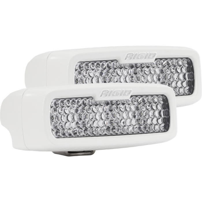 Flood Diffused White Surface Mount Pair SR-Q Pro RIGID Industries - OffBeat Auto