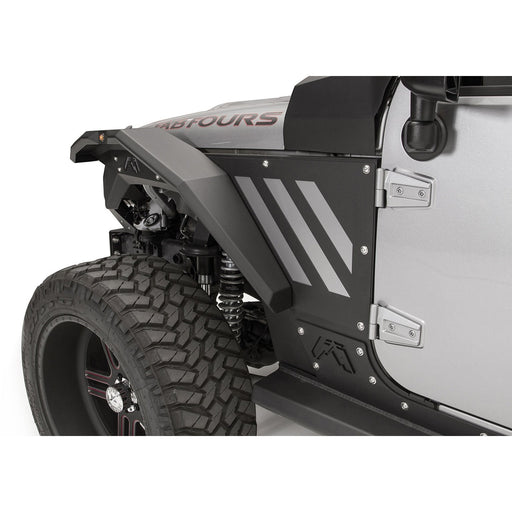 Fab Fours Jeep JL/JT Modular Front Fender System - OffBeat Auto
