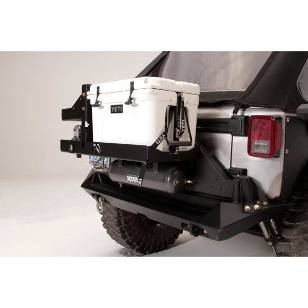 Fab Fours Jeep JK Air Compressor Yeti Mount - OffBeat Auto
