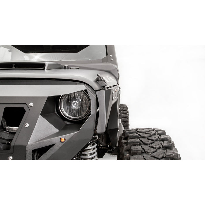 Fab Fours Jeep JK Front Fender System - OffBeat Auto