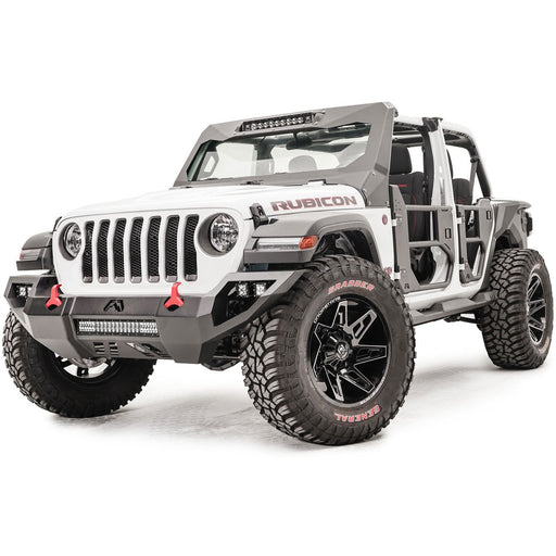 Fab Fours Jeep JL Vengeance Front Bumper - OffBeat Auto