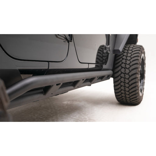 Fab Fours Jeep JL Tube Rock Sliders - OffBeat Auto